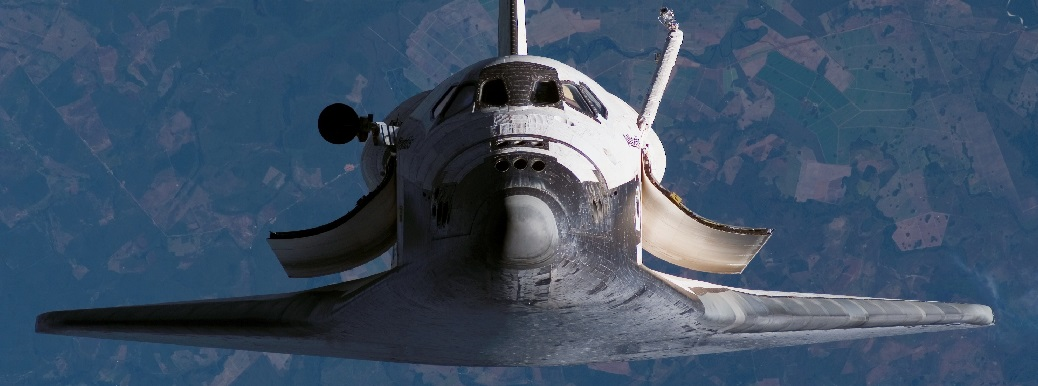Photo of NASA Space Shuttle during STS-117