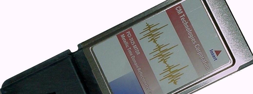 PCMCIA TDR Card